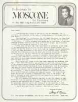 Professional for Moscone