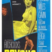Janet Leigh- Psycho Movie Poster