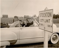 Janet Leigh- Stockton City Limits Sign